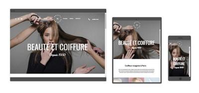 Site web coiffure L2