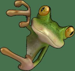 frog-finger