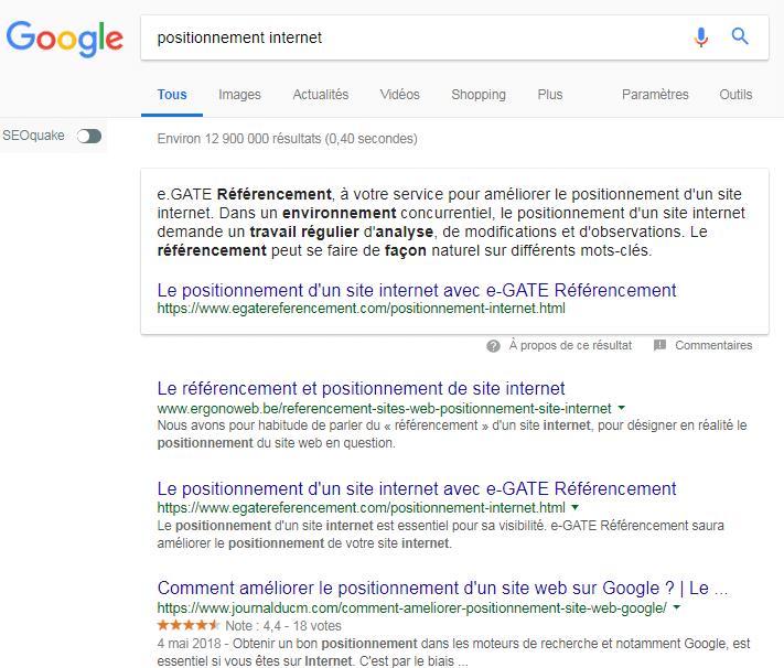 ZeroPositionnement