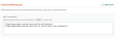 optimisation DNS