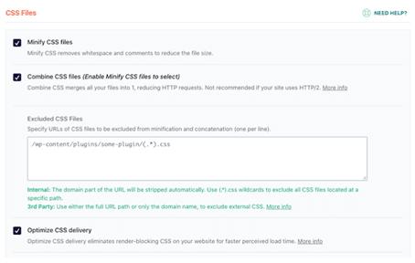 optimisation fichiers CSS